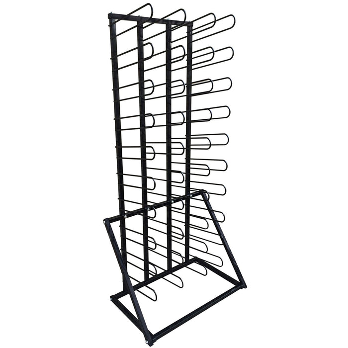 Vinyl Roll Floor Storage Rack