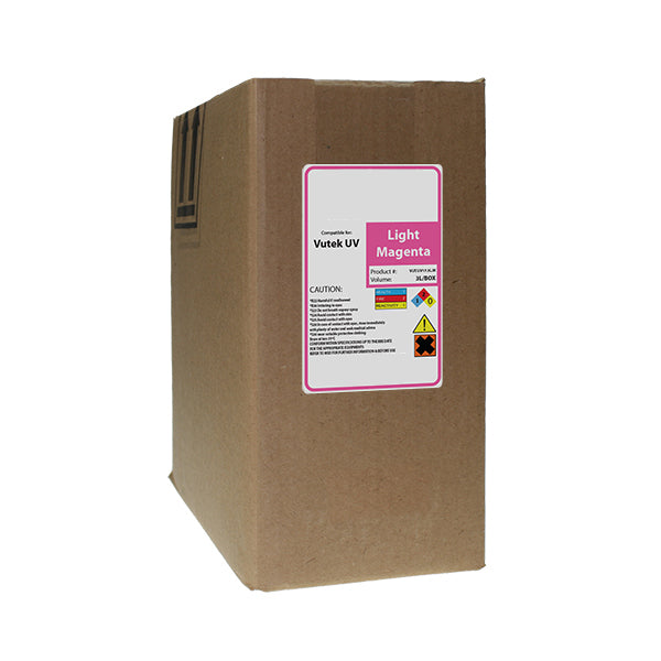 Replacement Ink Bag for Vutek UV Cure 3 Liter Light Magenta