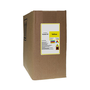 Replacement Ink Bag for Vutek UV Cure 3 Liter Yellow