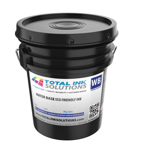 Waterbase Textile Ink - 5 Gallon