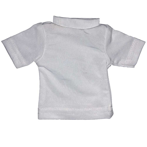 100% Polyester Mini Tshirts - White 100