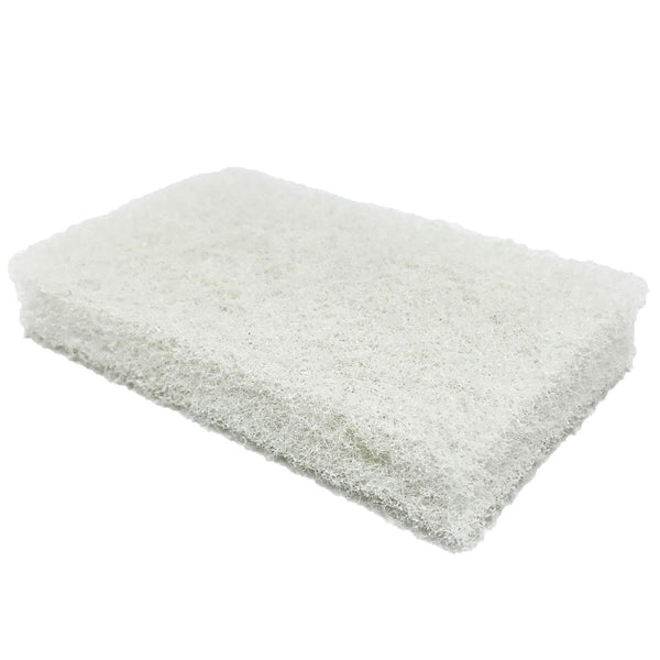 Biggee Scrub Pad - White (Medium)