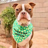Beer/Clover Reversible Pet Bandana