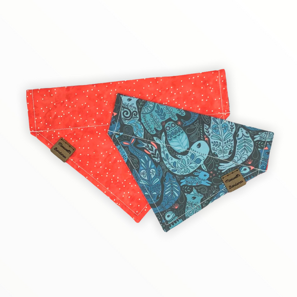 Arctic Animals Reversible Pet Bandana