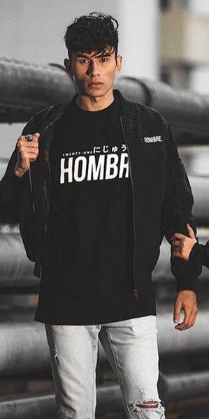 REBIRTH SERIES: HOMBRE BOMBER JACKET