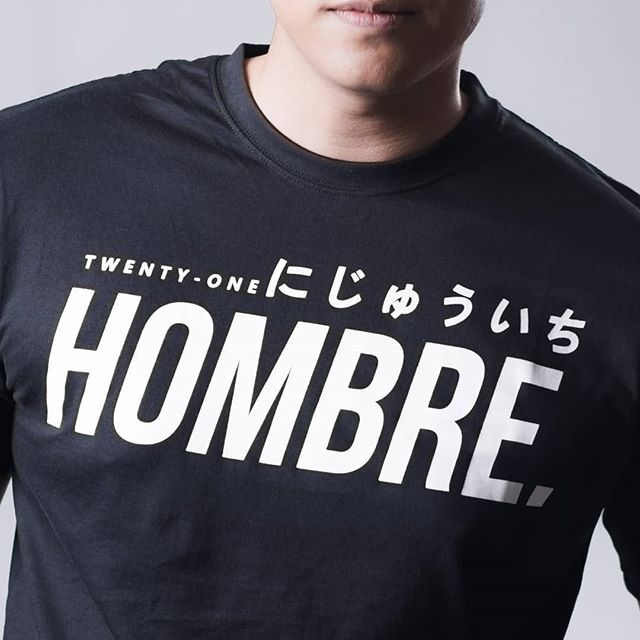 REBIRTH SERIES: Hombre21 Classic Basic Tee (Adults)
