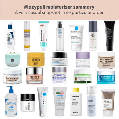 Top Moisturizer Favorites 2020