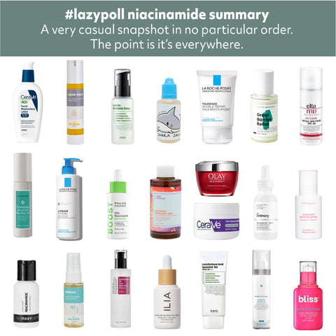 Niacinamide Favorites Community Poll