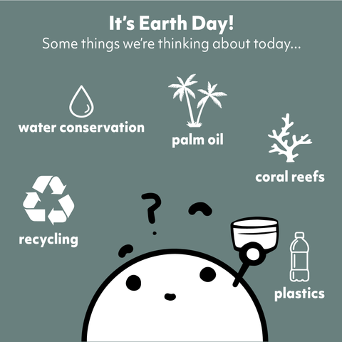 earth day skincare sustainability