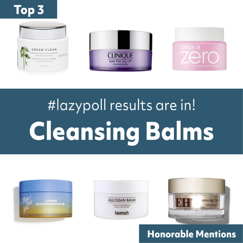 cleansing balm IG poll top favorites