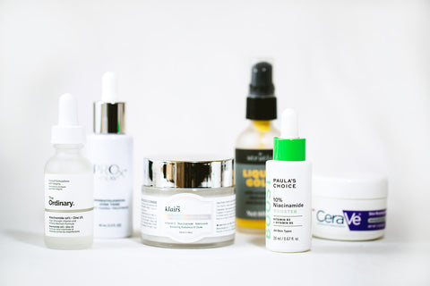 products containing niacinamide