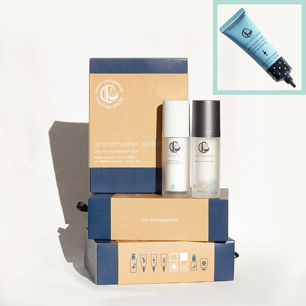 Deluxe Grandmaster Splash Oily Skin Kit