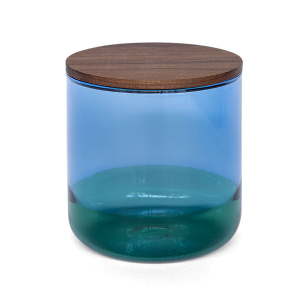 Amabro Two Tone Canister L Blue
