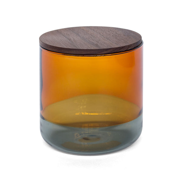 Amabro Two Tone Canister L Brown