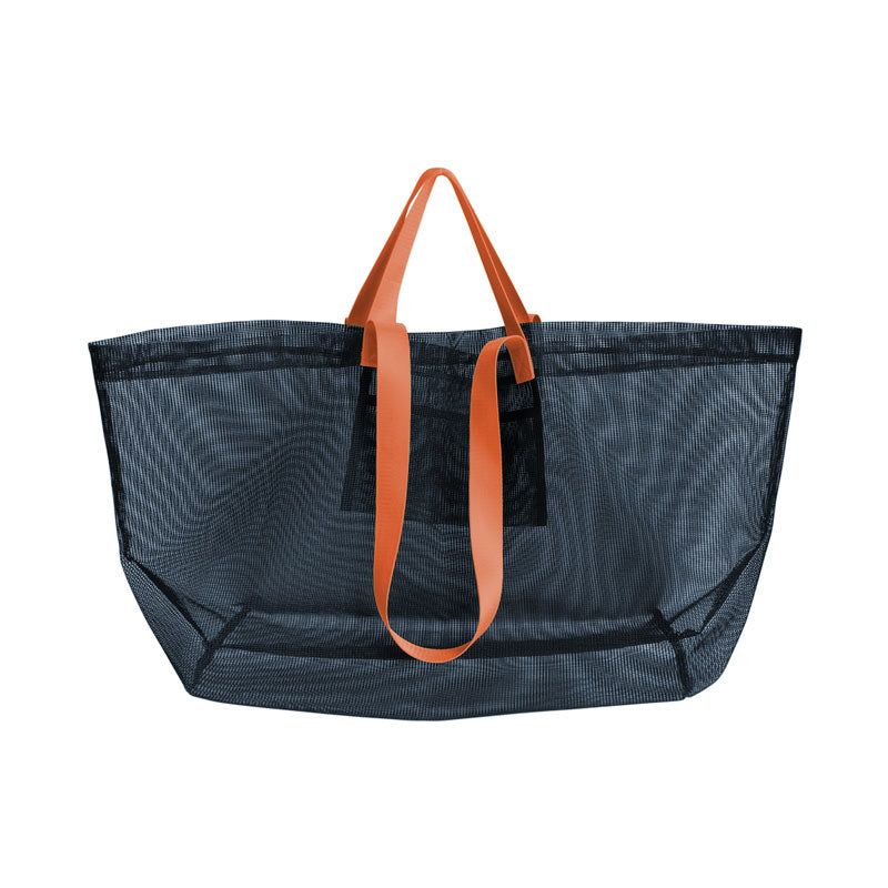 Amabro Mesh Carry Bag Navy