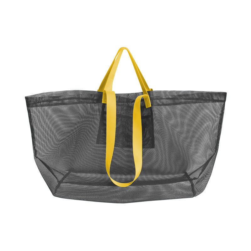 Amabro Mesh Carry Bag Dark Grey