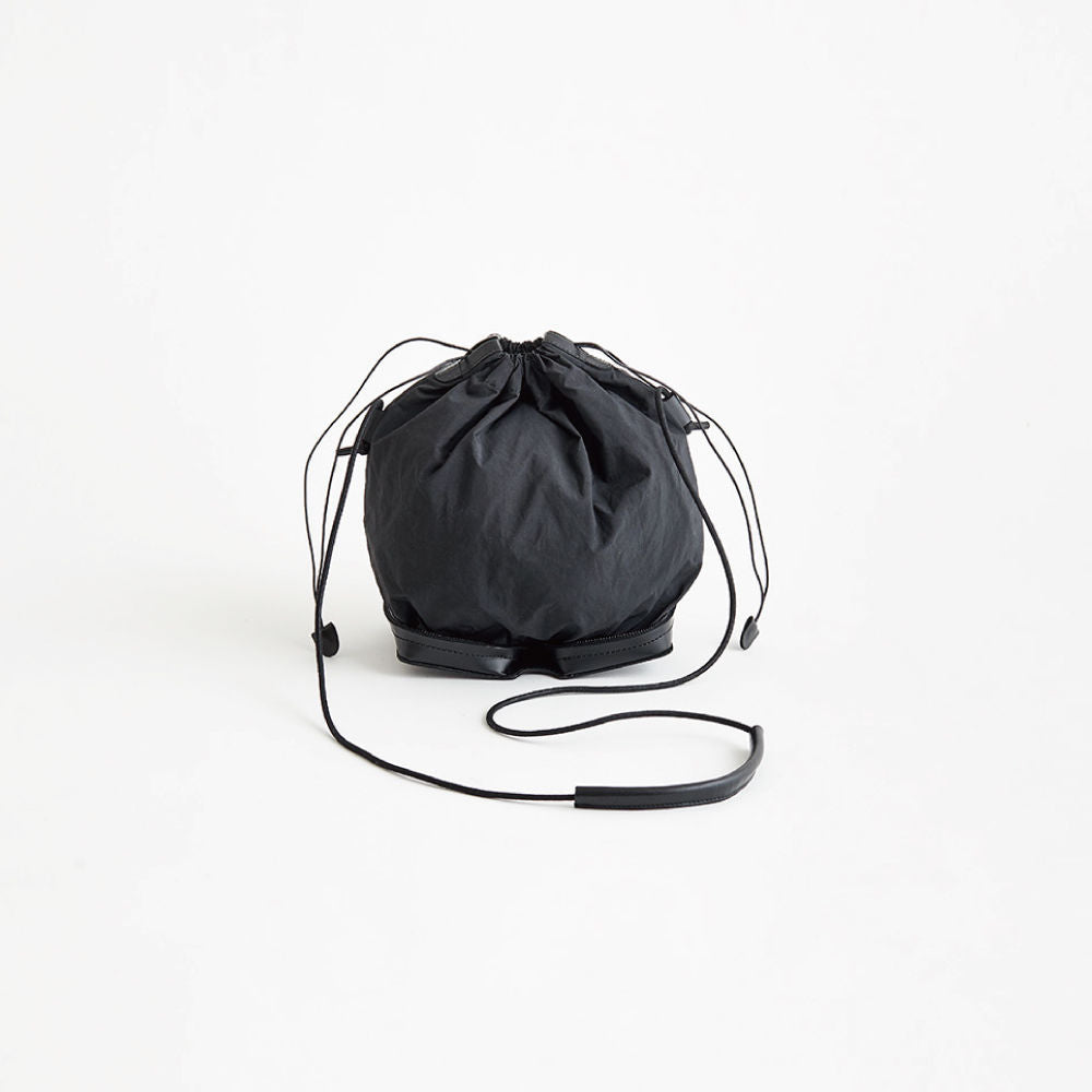 Irose Pocketable Mini Shoulder Bag Black