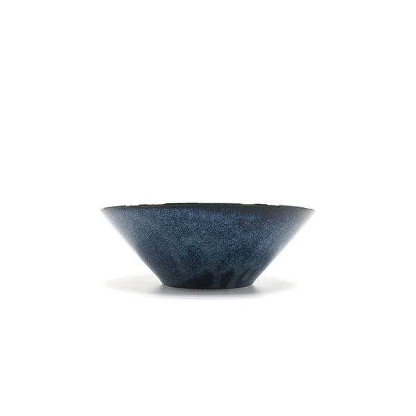 Aito Nordic Flower Large Bowl Navy - OKURA