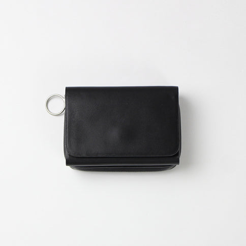 Ed Robert Judson Mini Wallet - Water Repellent Le Black - OKURA