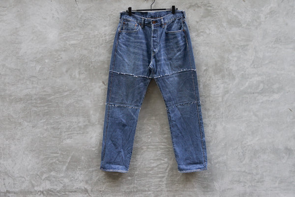 Bru Na Boinne Block Patch Jeans Light - OKURA