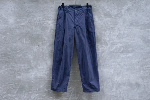 Bru Na Boinne One Tuck Light Pants Navy - OKURA