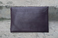 Givenchy Purple Leather Medium Antigona Envelope Clutch