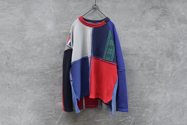 Leh Star Ski Knit Sweater Mix