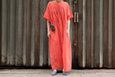 Atelier Delphine Lihue Dress Orange - OKURA