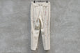 Auralee Wool Max Gabardine Hand Painted Slacks  White