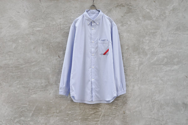 Phingerin Soup Shirt Chambray Light Blue - OKURA