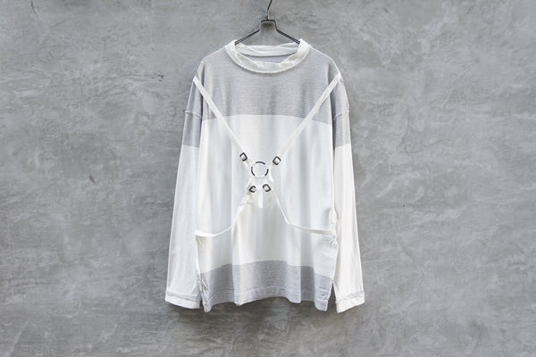 Phingerin Joint Tee Shadow Bd White