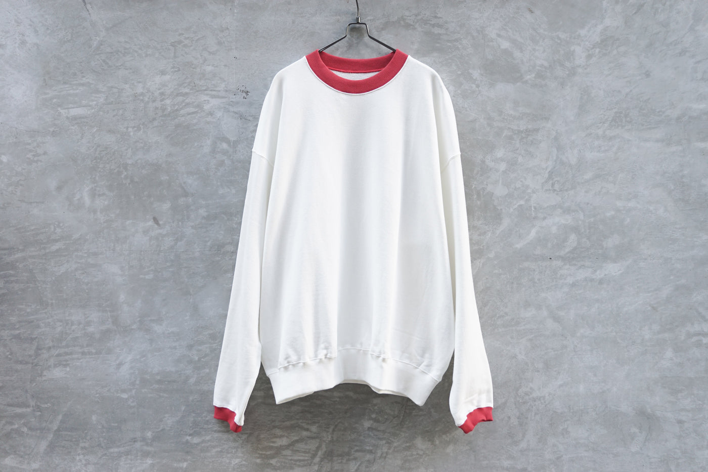 Phingerin Trimmed Sweat White