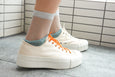 Maison Eureka Gym Shoes Off White - OKURA