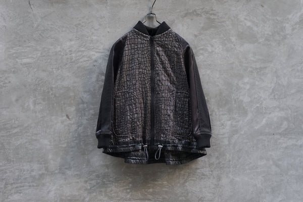 Sacai Embroidery Pattern Short Jacket - OKURA
