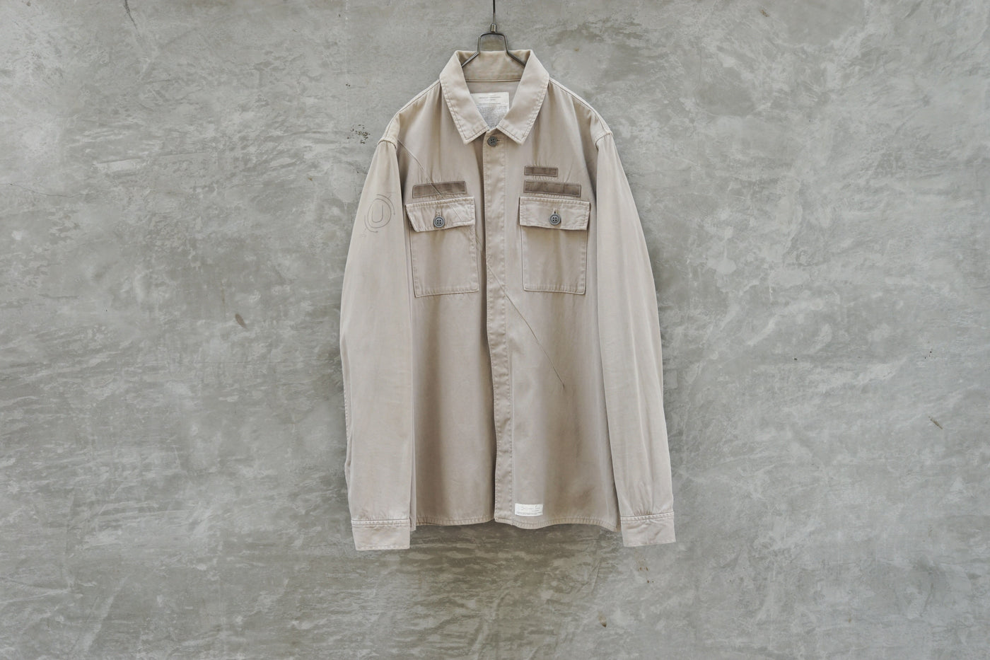 UNDERCOVER 10AW Chemistry Cotton Work Shirt - OKURA