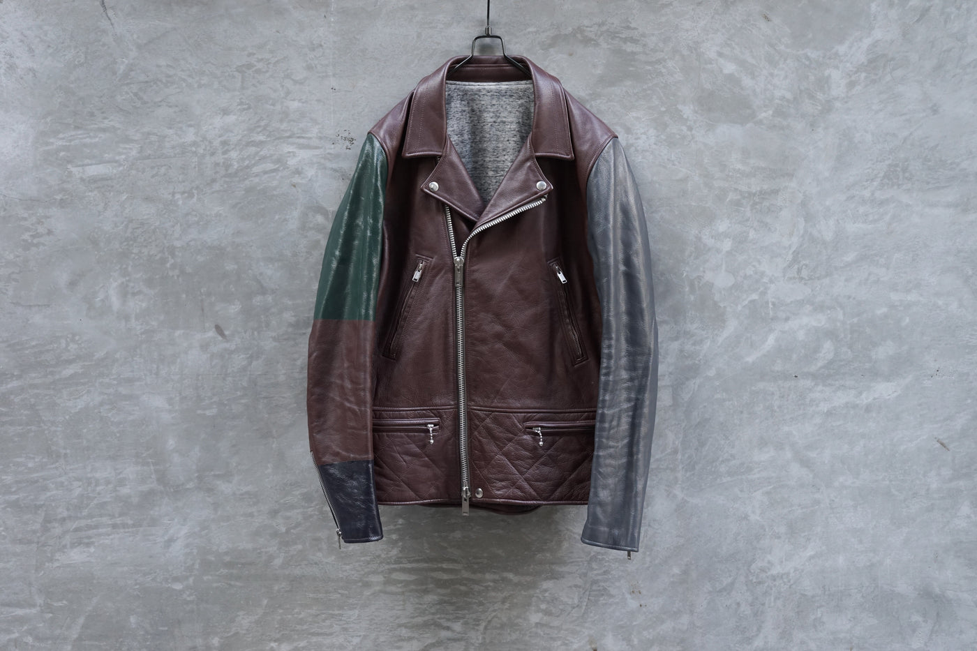UNDERCOVERISM 12AW Bordeaux Leather Jacket - OKURA
