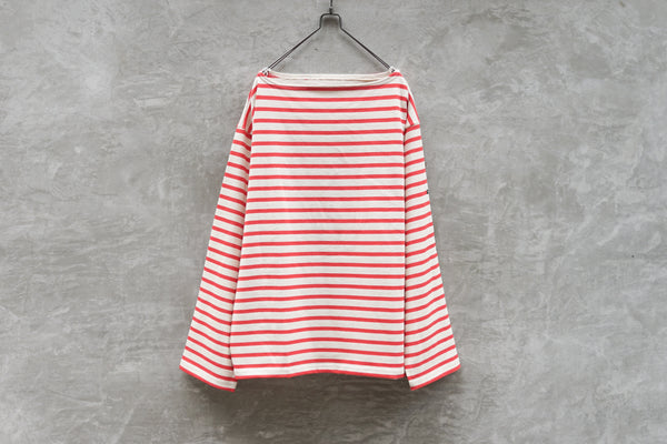 Outil Tricot Aast - Big Boat Neck Boarder Fr Beige x Red