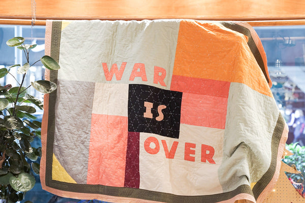 Leh Original Blanket (War Is Over) 175X132Cm Mix