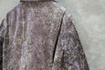 Junya Watanabe Comme Des Garcons Crushed Velvet Biker Jacket Purple AD2012