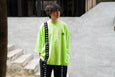 Jieda Assymmetic T-Shirt (Kappa) Yellow - OKURA