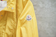 Moncler Hooded Zip Light Weight Jacket Yellow - OKURA
