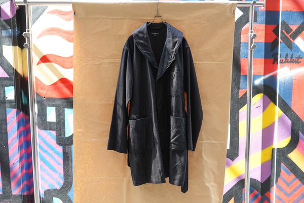 Engineered Garments Robe Coat Black