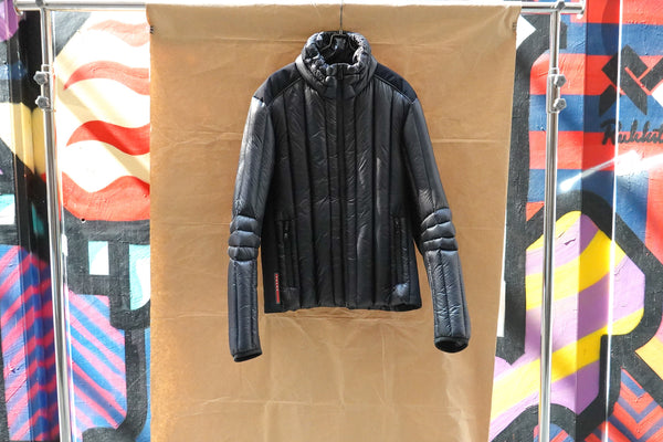 Prada Puffer Down Jacket Black
