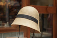 Mature Ha. Free Hat With Chin Strap Beige