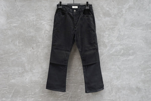 Jieda Switching 2Way Flare Pants Black