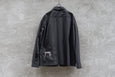 Clamp 6 Pcoket L/S Shirt Black - OKURA
