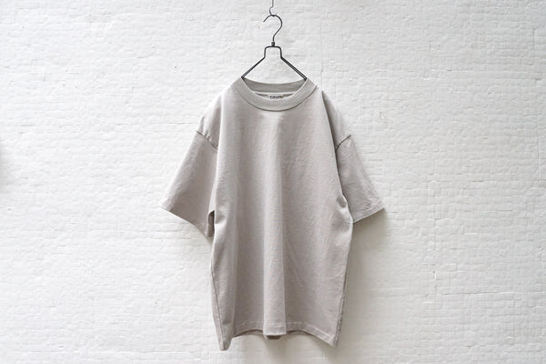 Auralee Stand Up Tee Light Grey - OKURA
