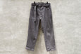 Blurhms U.S Cotton Denim Long Belted Pants Indigo
