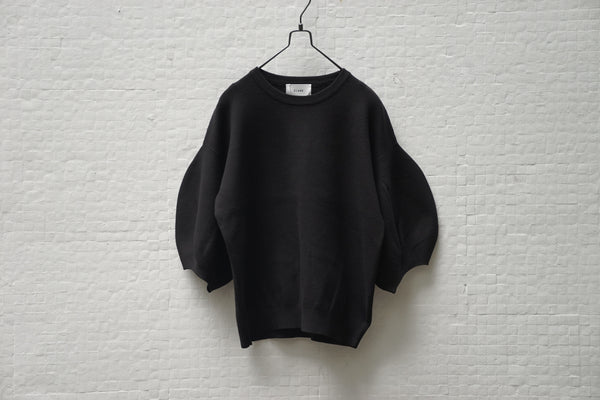 Clane Baloon Sleeve Knit Black