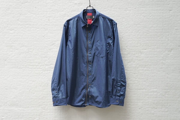 Beautilities Utility Zip Shirt Navy